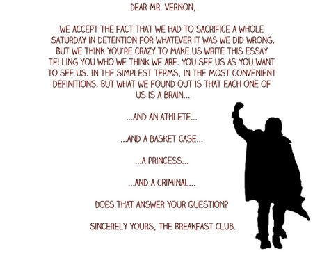 """Which """"Breakfast Club"""" Character Are You [QUIZ]: I got John Bender. The description for him actually is similar to me..."""