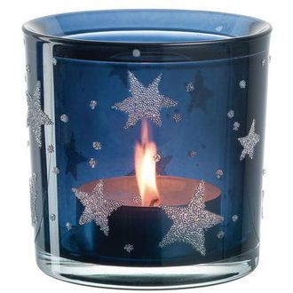 Leonardo Weihnachtswindlichter Stellato Blau 10cm Mit Bildern
