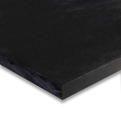 0 250 X 48 X 96 Black Hdpe Sheet Carbon Black Black