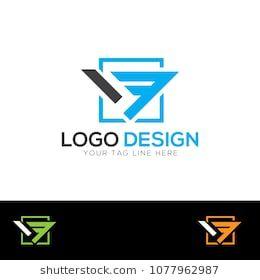 Vf Letter Logo Design Template Vector Eps Logo Logo Templates Logo Design Inspiration Logo Branding Logo Inspiration Log Logo Design Logos Logo Templates