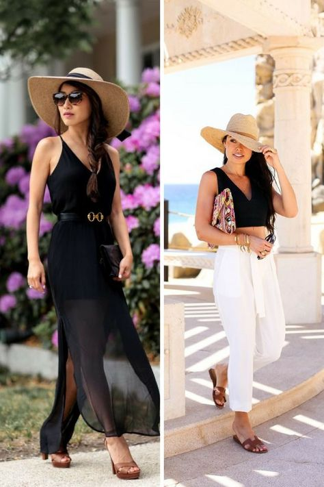 What straw hats are style next summer 2018 Summer 2018 Straw Hats for Women  Trendy Outfit Ideas (1) trend 3a6eabc4b9f