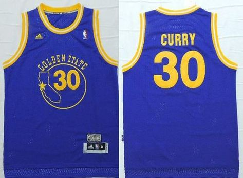 28f3fafb6 Warriors  30 Stephen Curry Blue New Throwback Stitched NBA Jersey ...