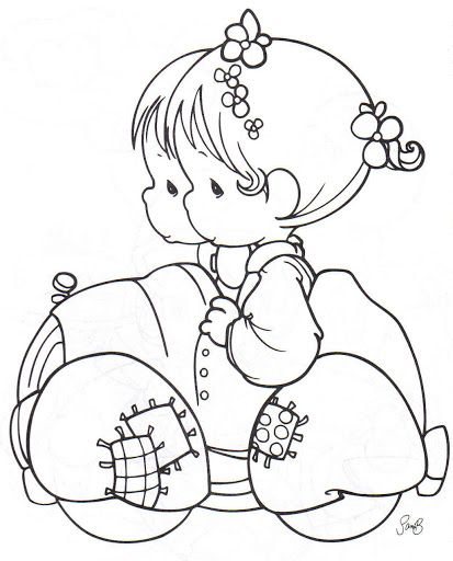314 best precious moments coloring pages images  precious