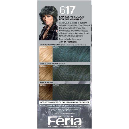 Beauty Hair Color Permanent Hair Color Teal Hair Color