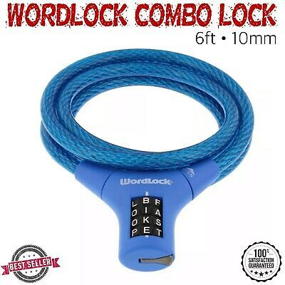 Sponsored Ebay Wordlock Resettable Quick Release Flexible Cable