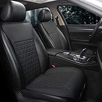 Luxury Car Protector,Universal Anti-Slip Driver Seat Cover with Backrest Black Panther Car Seat Covers 1 Piece,Gray