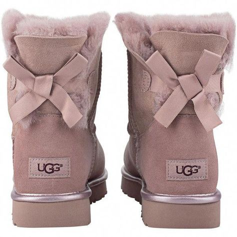 7b7d19a4da8 UGG Shoes | Ugg Mini Bailey Bow Ii Metallic Dusk Size 5 | Color ...
