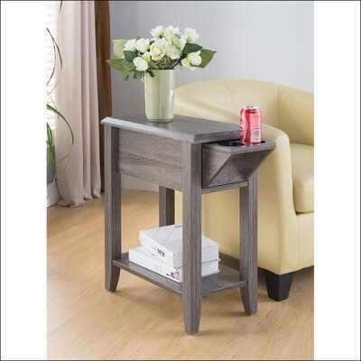 Hajibei End Table With Storage Sofa Side Table Chair Side Table Side Table With Storage Chair side tables with storage