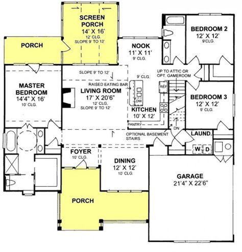Handicap accessible house plans ideas on pinterest Accessible home design