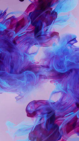 Purple Ink Iphone Wallpaper Smoke Galaxy Wallpaper Purple Wallpaper