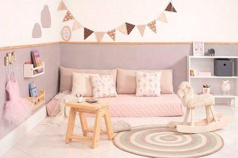 idée comment aménager une chambre petite fille, carrelage ...
