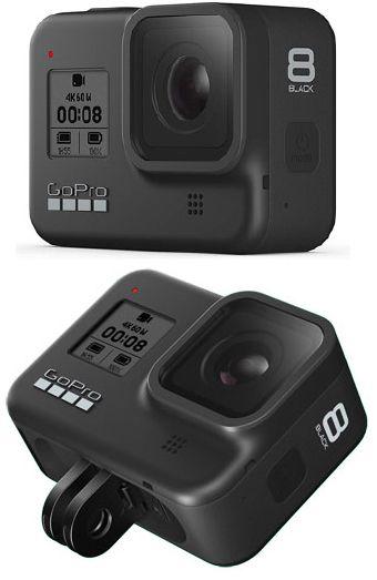 Gopro Hero 9 Black Yang Menampilkan Paparan Warna Di Depan In 2020 Gopro Hero Gopro Action Camera