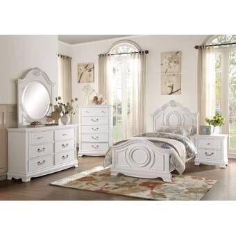 Gholston Panel Configurable Bedroom Set Bedroom Set Bedroom Panel White Bedroom Furniture