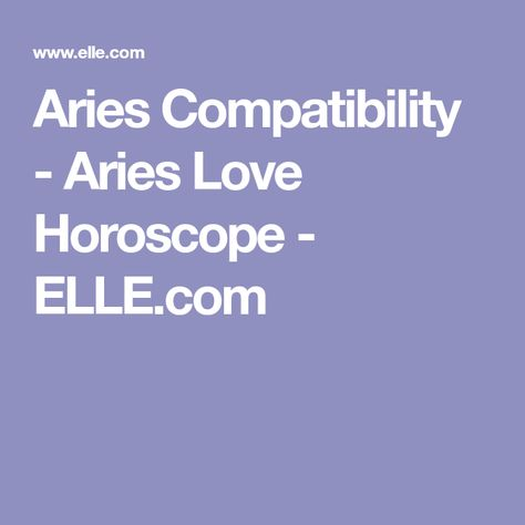 List of Pinterest aries compatibility gemini scorpio