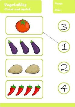Vegetables Worksheets Age 3 4 With Images Tracing Worksheets