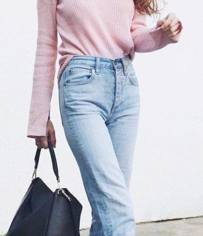 صور موديلات هدوم الشتا سيدات مصر Fashion My Style Mom Jeans