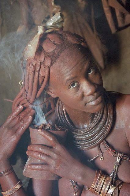 The Himba: Namibias iconic red women