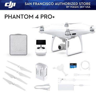 Dji Phantom 4 Pro Plus Drone Quadcopter Camera 4k With Display Drone Quadcopter Dji Phantom Dji Phantom 4