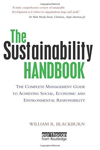 Read Download The Sustainability Handbook Free Epub Mobi Ebooks In 2020 Books To Read Ebooks Gempol