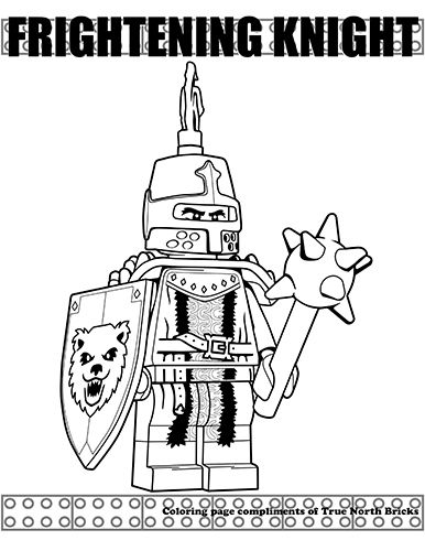 Minifigures Series True North Bricks Lego Coloring Pages Colouring Pages Fantasy Craft