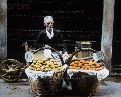 Fruit vendor  1900/14