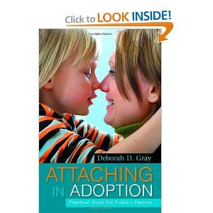 Guide to understand & care for your adopted child  healthy attachment. Strategies to enhance child's happiness  health. Explains attachment, how grief/trauma affect emotional development,  to improve attachment, respect, cooperation  Techniques matched to child's emotional needs , checklists included to assess child at each developmental stage. Covers issues including international adoption, FASD,  disabilities. Combines theory  w/ case examples.