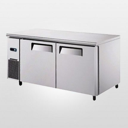 Atosa Ypf9022gr Double Door Under Counter Fridge Is Best For Commercial Kitchen Requirements It Comes With Be Under Counter Fridge Locker Storage Double Doors
