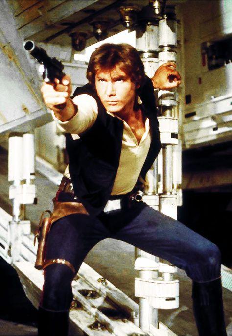 The Legendary Han Solo DL-44 Heavy Blaster Recreated In LEGO
