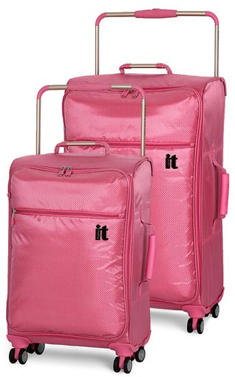 Pick your Pink! IT Luggage World's Lightest 34