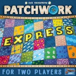2 Players 10 Min Patchwork Express On Boardgamegeek Patchwork Expressions Games