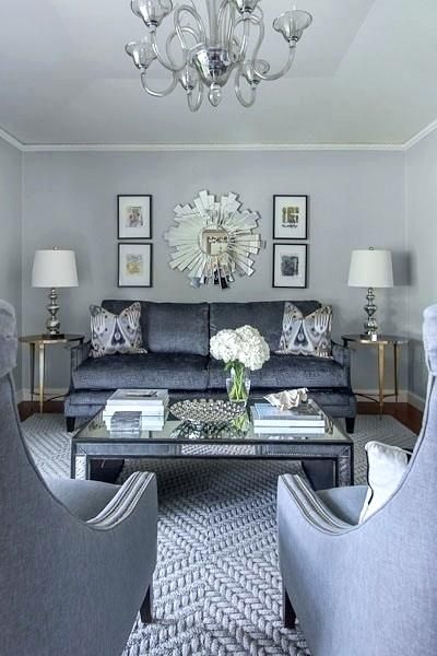 Mirrored Glass Living Room Furniture, Glass Living Room Furniture