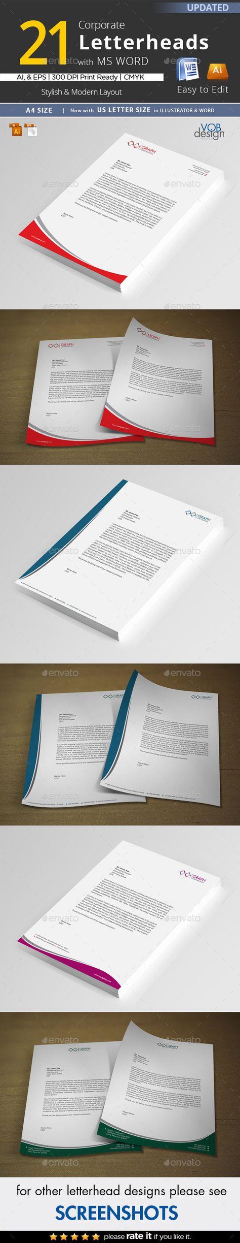 letter format on letterhead%0A      best Letterhead images on Pinterest   Contact paper  Letterhead and  Letterhead design