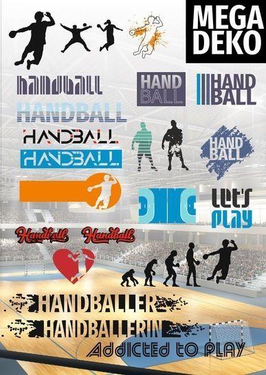 Hier Erhaltet Ihr Die Mega Deko Passend Zum Handball Schriftzug Oder