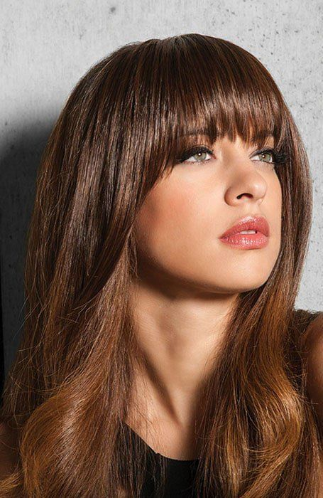 47+ Long highlighted hair with bangs inspirations
