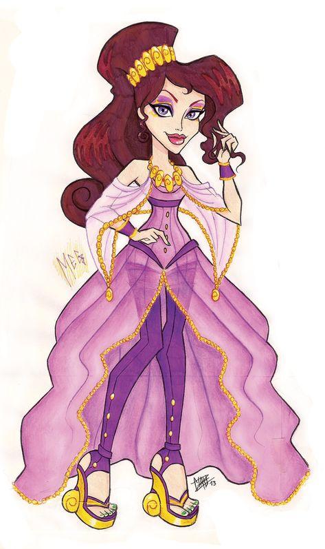 MH Disney: Meg by Xibira on DeviantArt