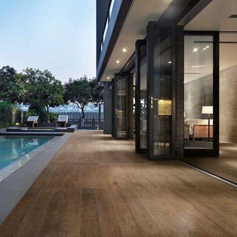 Pavimento de gres porcelánico imitación madera NATURE by CERAMICA SANT'AGOSTINO