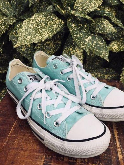 2fa7092f71d6 Converse Canvas Shoes Aruba Blue 130118F Women 8