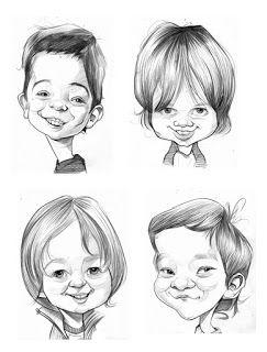 Sebastian Cast Dibujante Encargo Egresados Caricaturas De Ninos Rostros Caricatura Rostros De Dibujos Animados