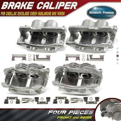 Sponsored Ebay 4x Brake Caliper For Chevy Avalanche Tahoe Gmc Yukon 1500 Escalade Front 2020 Brakes And Brake Parts Chevy Avalanche Brake Parts