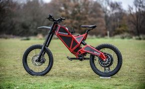 The Fastest Electric Bike On Earth Is A Tech Toy For Thrill
