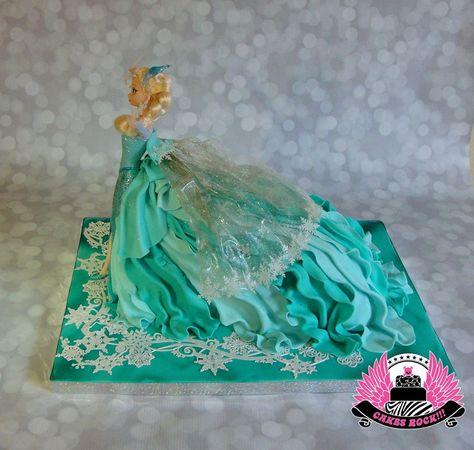 """""""Let It Go"""" - bolos temáticos da Disney"""