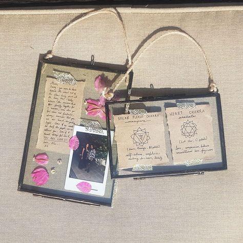 DIY: Hanging Glass Frame Memory Box (Great Gift For Her!) – Beautiful, Creative, Inspiring . . . Life.