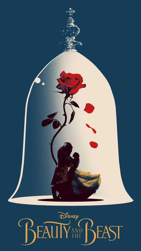 Beauty And The Beast Poster Artwork Wallpapers | hdqwalls.com
