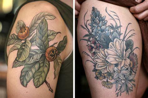 Best Flower Tattoo Artist In Bay Area Botanical Tattoo Organic