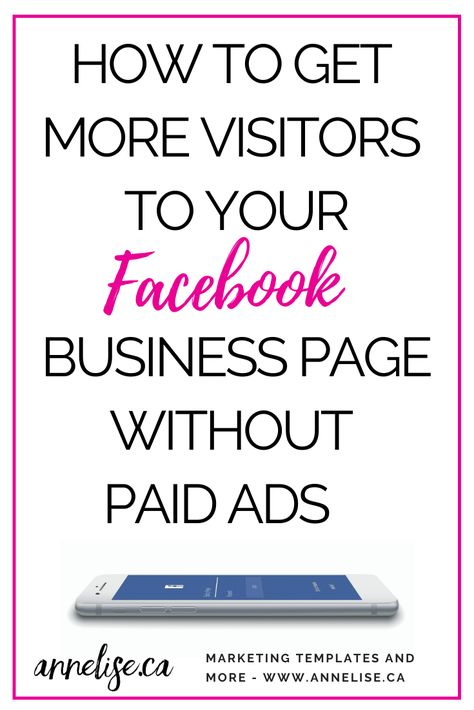 How To Get More Traffic To Facebook Business Page - No Ads