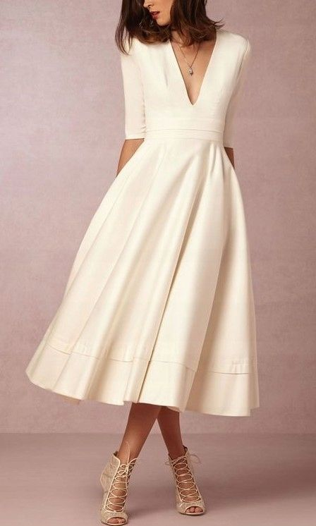Sukienka Sukienki Na Miare Kolory Wesele Studniowk 7753423047 Oficjalne Archiwum Allegro Tea Length Wedding Dress Midi Dress Party Gorgeous Wedding Dress