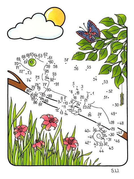 Malen Nach Zahlen Chamaleon Mit Blumen Bilderratsel Punkte Verbinden Malen Nach Zahlen Kinder Malen Nach Zahlen Omas Bilder