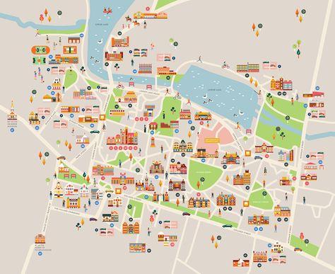 Mount Holyoke Campus Map Pinterest