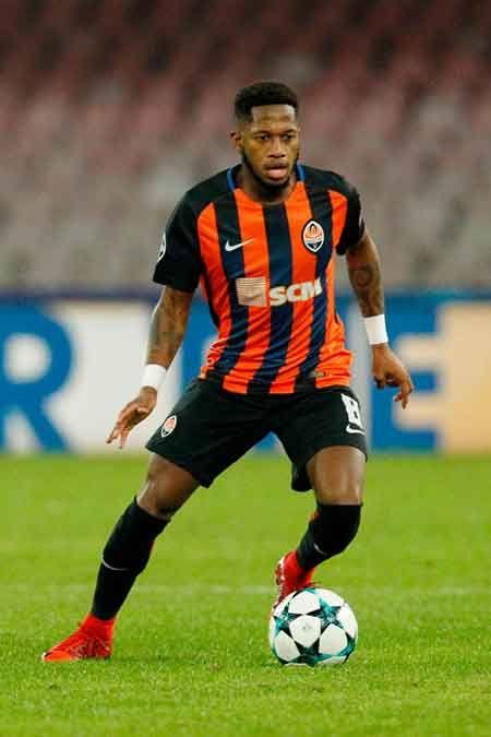سيرة فريد لاعب كرة قدم Manchester United Manchester Donetsk