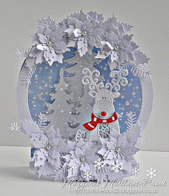 dutchess: Tattered Lace snow globe....